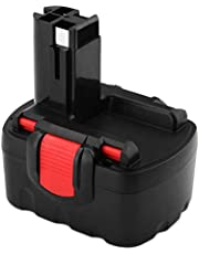 FUNMALL 14.4V 3.6Ah Ni-MH Reemplazo para Bosch Batería BAT038 BAT040 BAT041 BAT140 BAT159 2607335685 2607335533 2607335534 2607335711