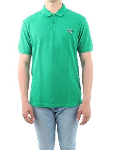 Calvin Klein Jeans J30J312323 Polo Hombre Verde S