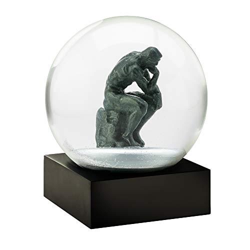 CoolSnowGlobes Thinker Snow Globe