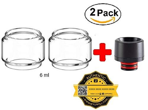 100% Authentisch Ersatz-Glas für den UWELL Crown 4 6ml (2 pcs) + DRIP Tip