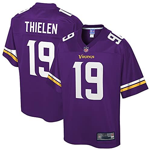 NFL PRO LINE Men's Adam Thielen Purple Minnesota Vikings Team Player Jersey