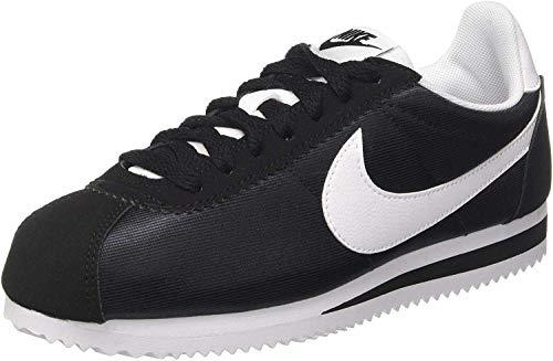 Nike Classic Cortez Nylon, Zapatillas de Gimnasia Mujer, Negro (Black/White/Black 007), 43 EU