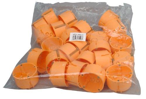 Kopp 355225509 Hohlwandschalterdose Isolierstoff, ø 68 mm, Dosentiefe 47 mm, Profi-Pack: 25-Stück im Netz