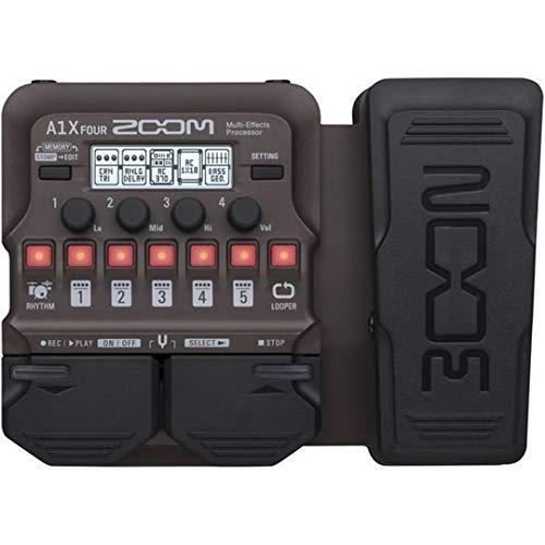 Zoom A1X FOUR/IF Pédale multi-effets pour Guitare...