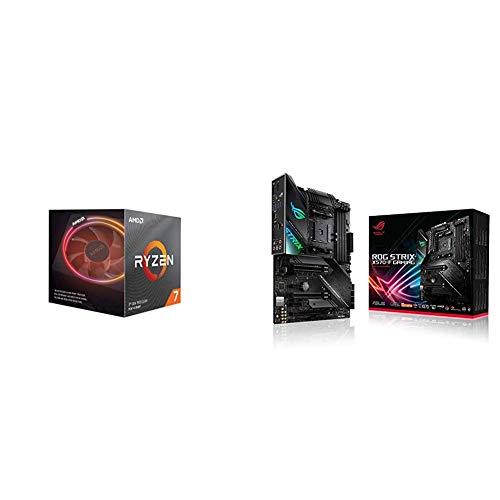Pack gráfica ASUS y Procesador AMD: Ryzen 7 3700X y ROG Strix X570-F Gaming