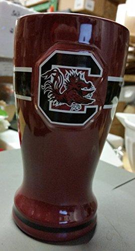 South Carolina 16oz Pilsner NCAA Ceramic Beer Glass