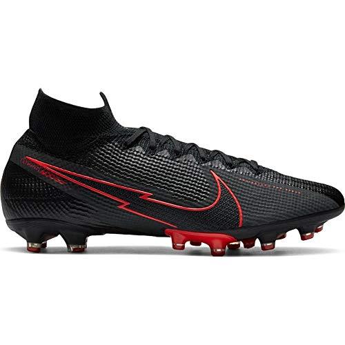 Nike Mercurial Superfly 7 Elite AG-Pro - Zapatillas deportivas, color negro y gris
