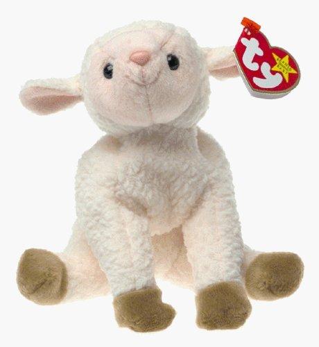 TY Beanie Baby - EWEY the Lamb With Gasport Error Tags