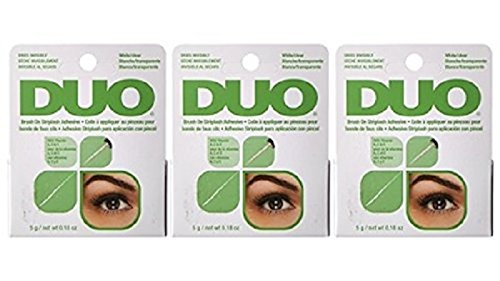ARDELL - das Original - DUO Brush on Adhesive with Vitamins (.18 oz), 3 Stück