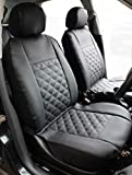 Best Car Seat Covers - Carseatcover-UK® Front Pair KNIGHTSBRIDGE LEATHER LOOK Car Seat Review