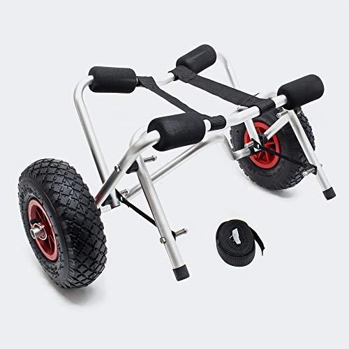 WilTec -  Kajakwagen Kanuwagen