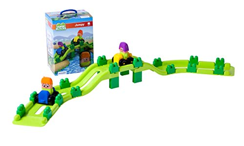 Miniland- Super Blocks Jumpy, Miniland32346, Multicolore