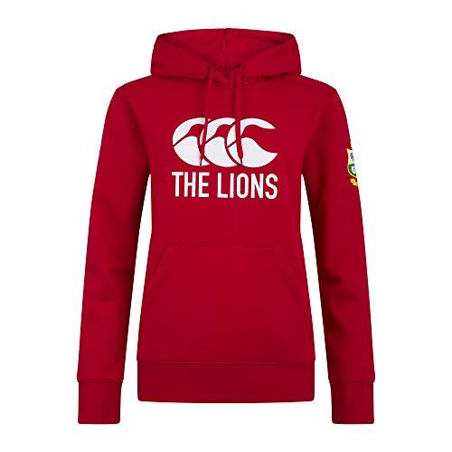Canterbury Forro Polar para Mujer con Logo de Rugby británico e irlandés, Mujer, Forro Polar, 5054773327548, Tango Rojo, 40