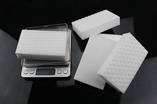 YOYO HOME 30 Pack Magic Cleaning Sponge Magic Eraser Stain Remover Pad Eco White (10 PCS) (30 PCS)