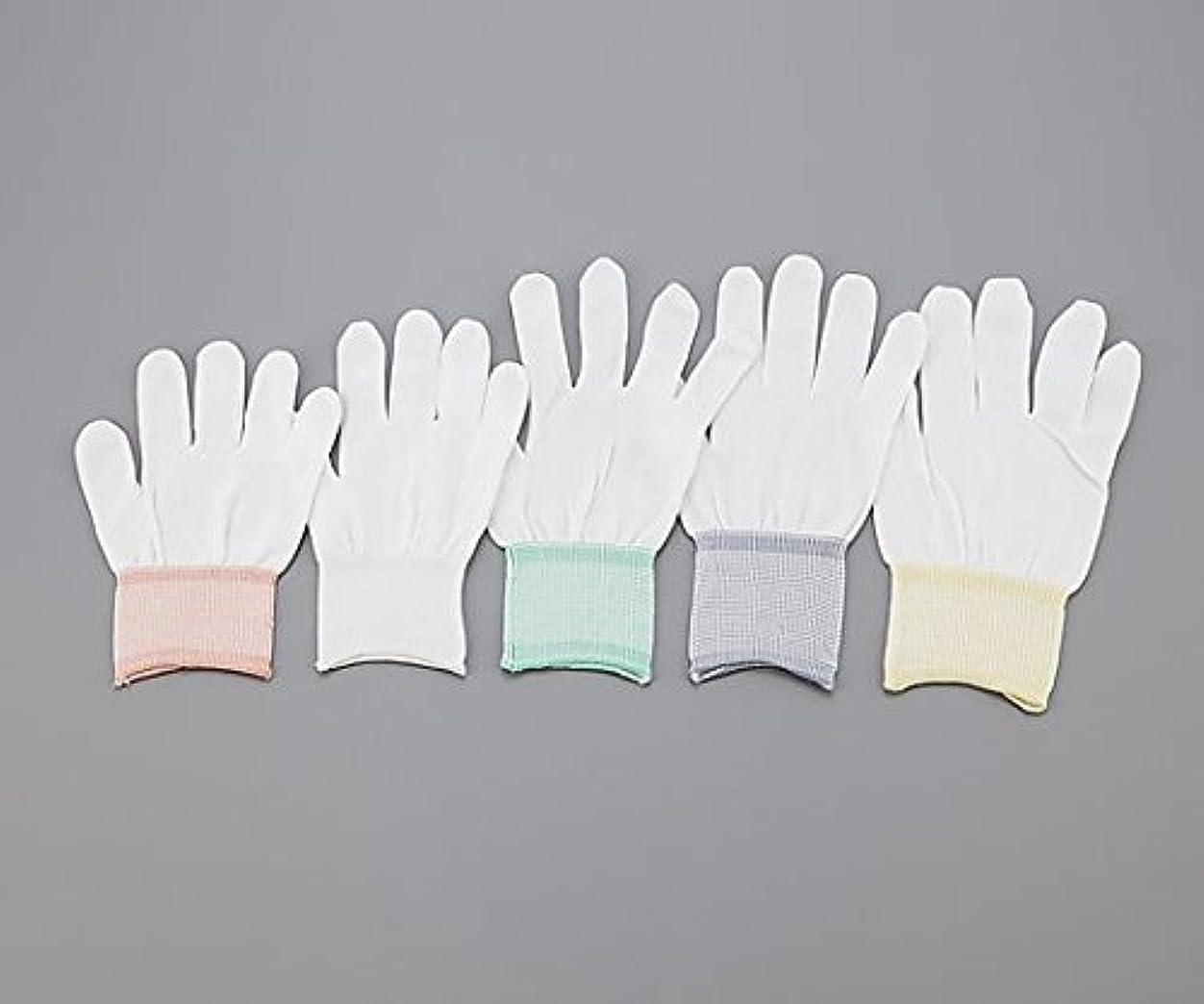 対象貫入軍アズピュア(アズワン)1-4294-01アズピュアインナー手袋指先有りS10双20枚