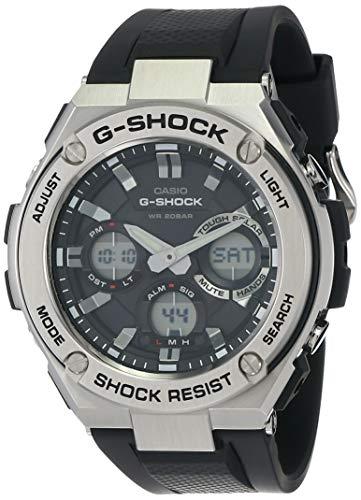 Casio G-Shock Analog-Digital Black Dial Men's Watch - GST-S110-1ADR (G609)