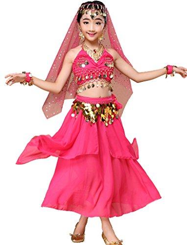Astage meisjesjurk kinderen buikdans Halloween carnaval kostuum sets