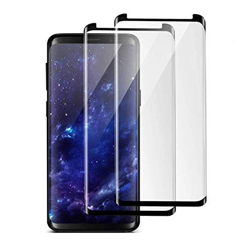 Galaxy Note 8 Screen Protector, (2-Pack) Tempered Glass Screen Protector [Force Resistant up to 11 pounds] [Full Screen Coverage] [Case Friendly] for Samsung Note 8