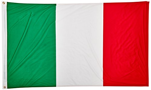 Italiaanse vlag 3 ft x 5 ft Superknit polyester WM Supporters vlag