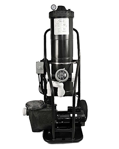 PORTAVAC 1.5 HP In Ground Pump Portable Vacuum System 100 GPM...
