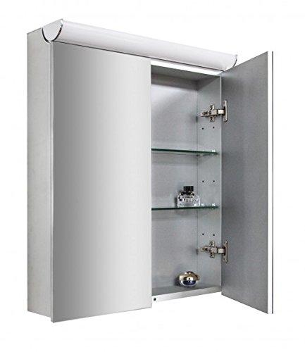 Spiegelschrank Multy BS60 mit LED-Beleuchtung - Breite 60cm