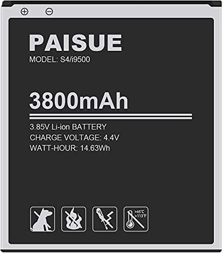 Batería de repuesto para Samsung Galaxy S4 EB-B600BE, I337, I545, L720, M919, I9506, I9500, I9505, R970 (no apta para S4 Mini)