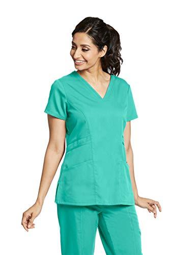 Grey's Anatomy 41452 V-Neck Top Tropic Jade L