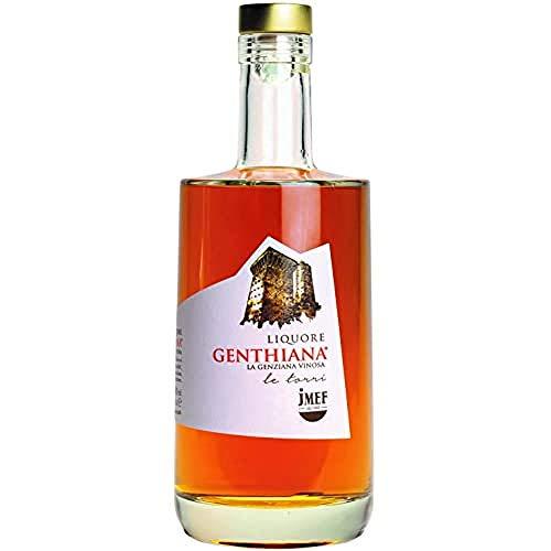 Genthiana | Liquore Premium Genziana e Vino Pecorino| Distilleria Jannamico Abruzzo- dal 1888-700 ml