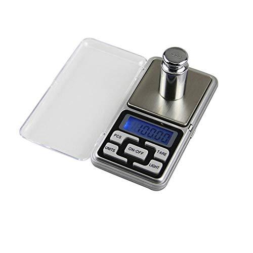 Taschenwaage Feinwaage Digitalwaage Waage 100/200/300 / 500G 0,01/0,1G Digitale Waage Hochgenaue Hintergrundbeleuchtung E-Pocket Für Schmuck Gramm Gewicht Für Die Küche