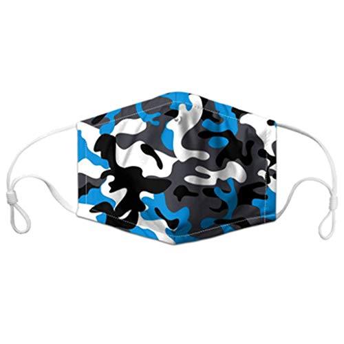 RANTA Face Cover Multifunktionstuch Motorrad Winddicht Atmungsaktiv Mundschutz Halstuch Schön Atmungsaktiv Sommerschal Augenschutz mit 2 austauschbaren Filtern