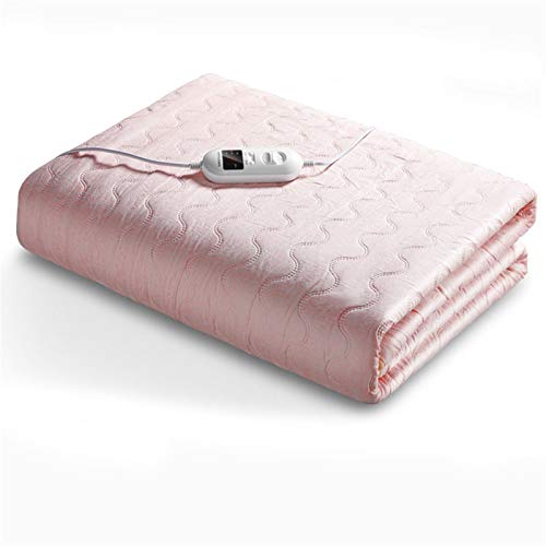 Comfort Electric Blanket Blanket Electric Soft & Cozy with Timer Auto Off Washable Overheat Protection 7/8 Gear Adjustment Over Blankets Double Single (Size : 150 * 80cm)