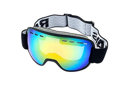 Ravs Unisex Skibrille und Snowboardbrille Skiing Goggles mit Allwetter Disc