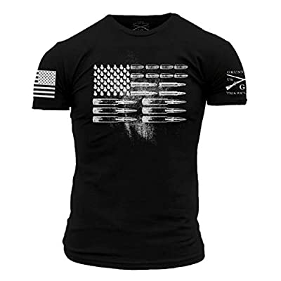 Grunt Style Ammo Flag T-Shirt in Black (2XL)