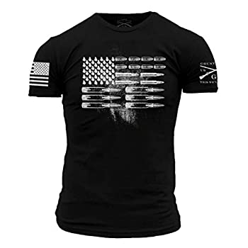 Grunt Style Ammo Flag T-Shirt in Black  MD