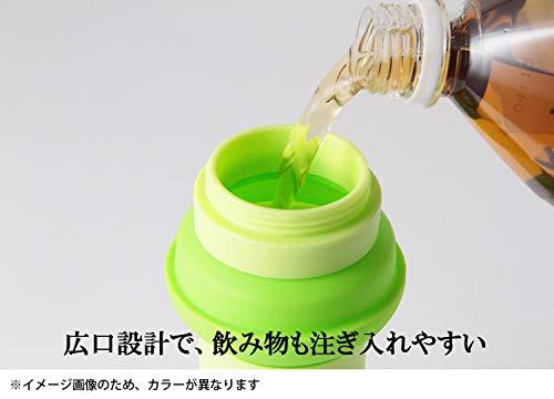 旭金属メトレフランセボトル水筒500mlシリコンボトルピンクSLBPK