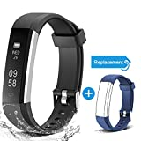 Arbily Fitness Band with Replacement Strap Activity Tracker Waterproof Pedometer Wrist Watch Fitness