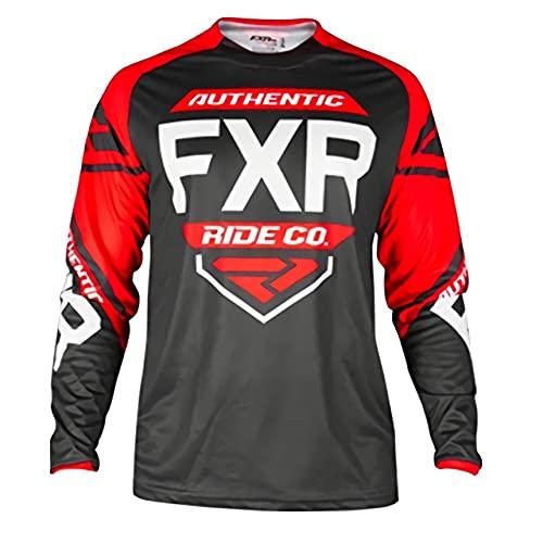 Camiseta de ciclismo de corte holgado, maillot de manga larga para mountain bike para niño, ropa de motocross, descenso, mountain bike Dh Bike Imagen XS