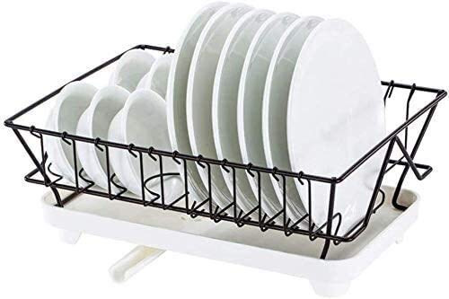 COLiJOL Fruit Bowl Kitchen Racks Kitchen Dish Rack Tableware Drain Rack Fruit Vegetables Storage Basket Drying Bowl Drip Rack Fruit Basket (Size : Green),White,White