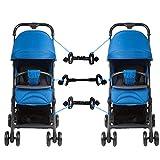 Conectores del cochecito de bebé, conector universal del carro del cochecito de bebé para gemelos