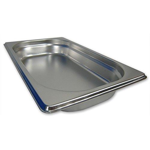Preisvergleich Produktbild GN 1 / 4 Gastronormbehälter GN-Behälter Edelstahl 1, 0 Liter Tiefe 40mm Gastronorm