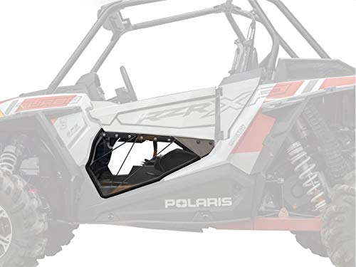 SuperATV Clear Lower Door Inserts for 2014+ Polaris RZR XP 1000 | Rattle-free Fit | Made from...