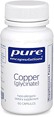 Pure Encapsulations - Copper (glycinate) 2 mg 60 vcaps