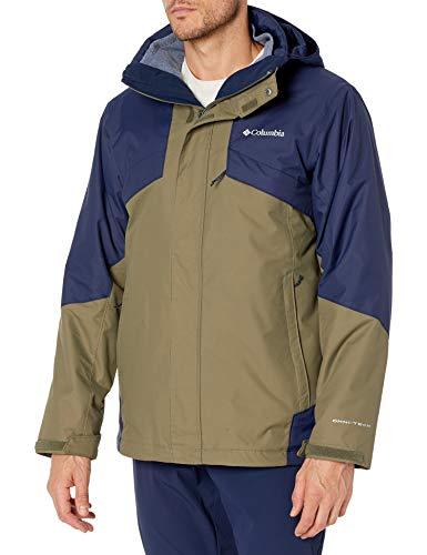 Columbia Men's Bugaboo II Fleece Interchange Jacket, Dark Purple/Shark, Medium