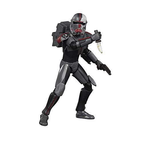 Star Wars Black Series Bad Batch Hunter The Clone Wars Figura de acción Coleccionable, Juguetes para niños a Partir de 4 años (Hasbro F1859)