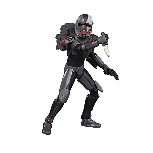 Star Wars The Black Series Bad Batch Hunter 6-Inch-Scale Star Wars: The Clone Wars Collectible Action Figure, Toys For Kids Ages 4 and Up
