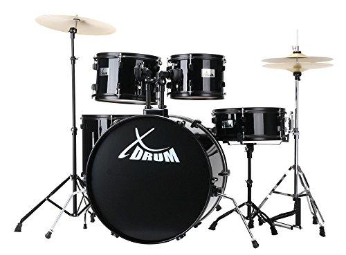 XDrum Rookie 22' Fusion batería set completo Black