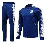 Shi18sport Club Vestito A Maniche Lunghe in Jersey Tuta da Calcio, Tuta da Allenamento, 1, S