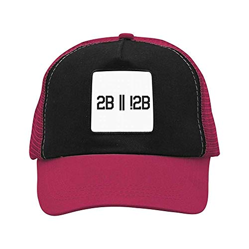 angwenkuanku Programming Humor to Be or Not to Be Unisex Casual Mesh Cap,Baseball Cap Cool 777