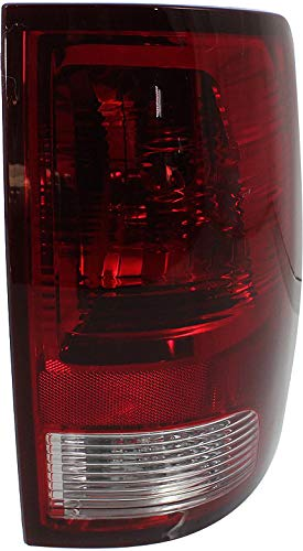 Tail Light Compatible with DODGE RAM FULL SIZE P/U 2009-2018 RH Lens and Housing Standard Type All Cab Types - CAPA