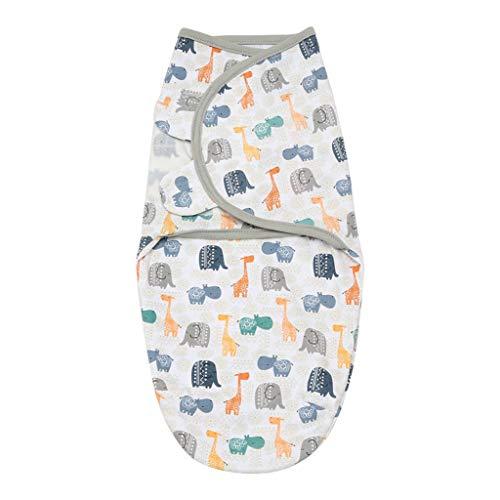 Sayletre Swaddle Decke für Neugeborene Baby-weiche warme Wrap Frühlings-Sommer-Schlafsack Schlafsack für 0-2 Monate Jungen Mädchen